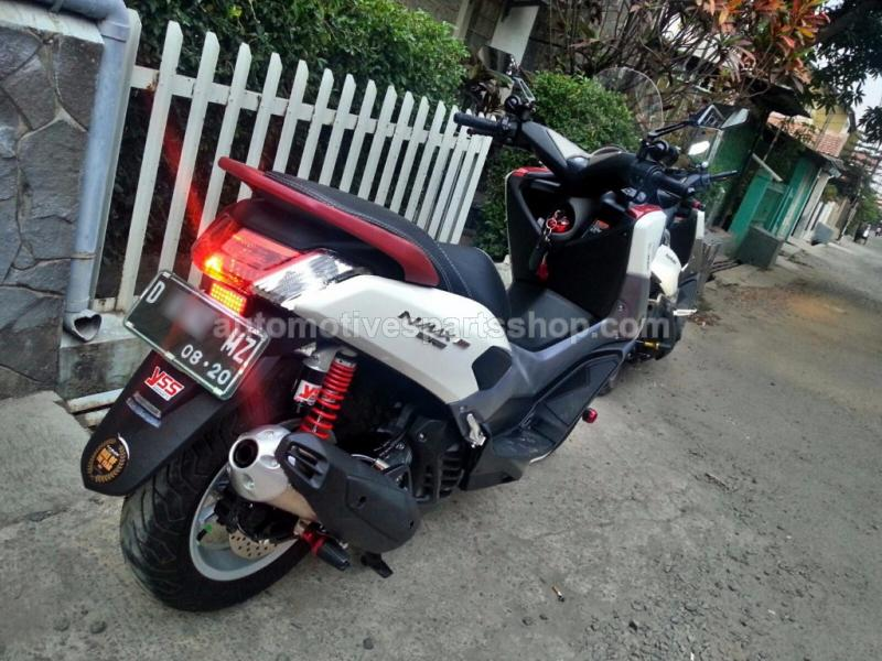 PARTS and ACCS » Engine » Sport / Silent Exhaust » SILENT POWER SPORT » AMP  SX SERIES SILENT POWER BOOM EXHAUST for YAMAHA NMAX / MBK OCITO •