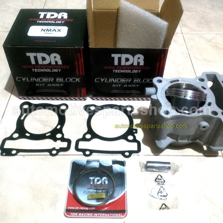 YAMAHA NMAX 125 / 155 180cc TDR CERAMIC NICASI BORE UP CYLINDER KIT - FORGED PISTON