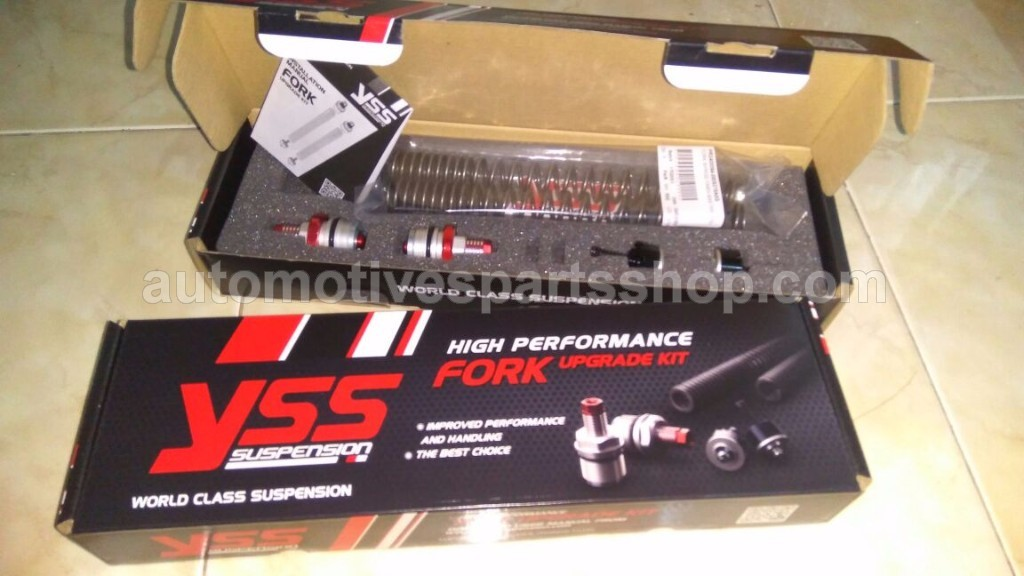 YSS FORK UPGRADE KIT for YAMAHA NMAX / AEROX 155 VVA